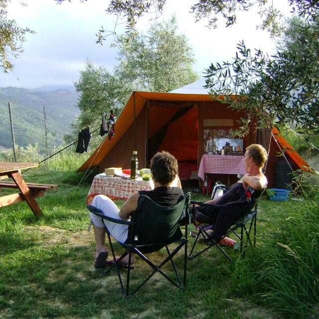 Huurtent camping Italie