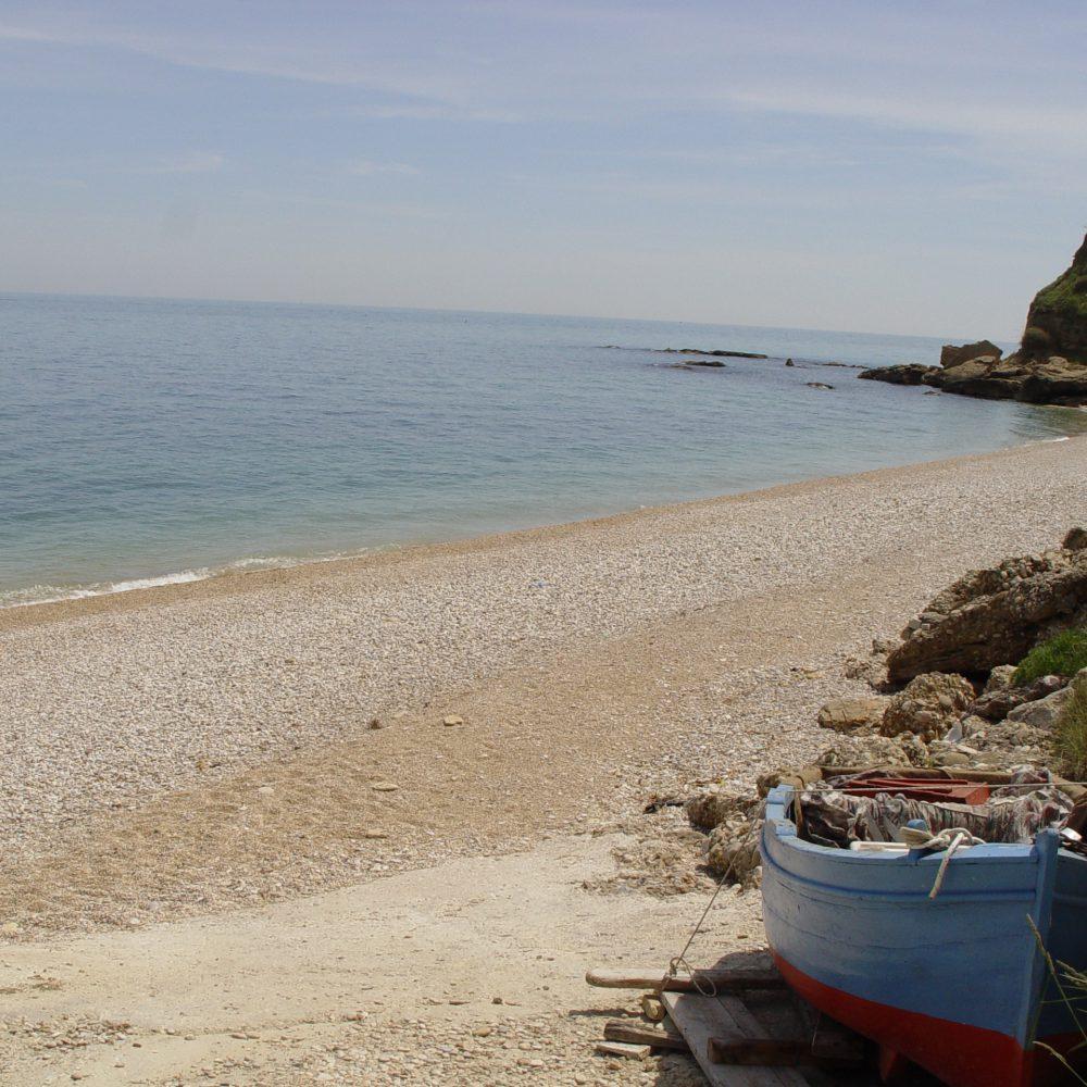 Huurtent aan de Adriatische zee