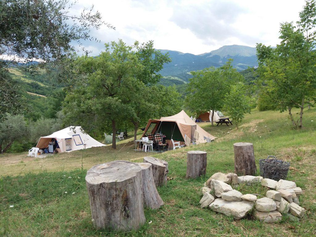 Camping tent huren voor een kampeervakantie in Italie.