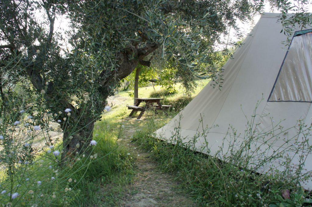 Huur een tent voor een mooie kampeer ervaring in Italie