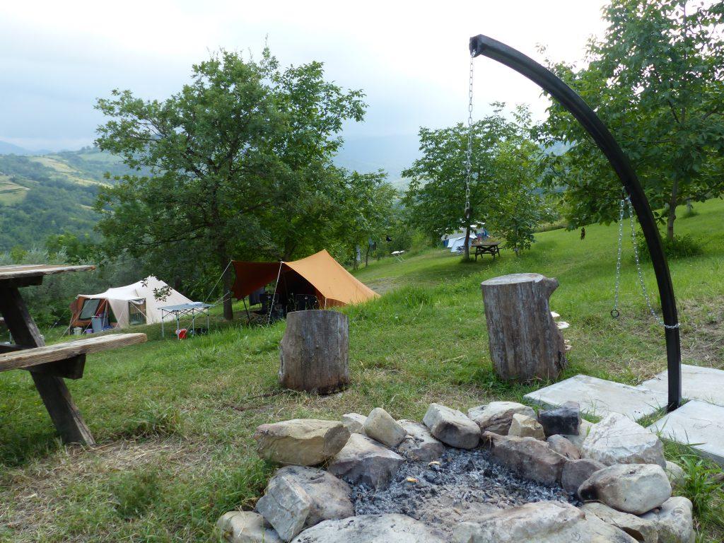 Nature campsite