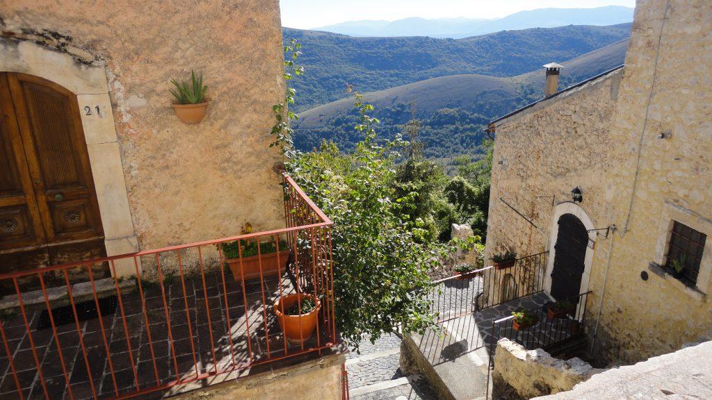 Middeleeuws stadje in Abruzzo