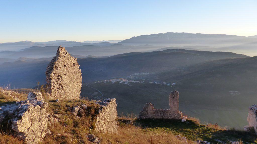 Kasteel bij Rocca Calascio