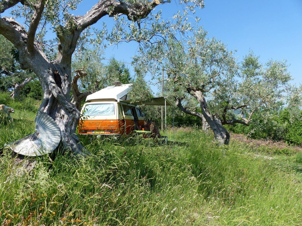 Little campervan
