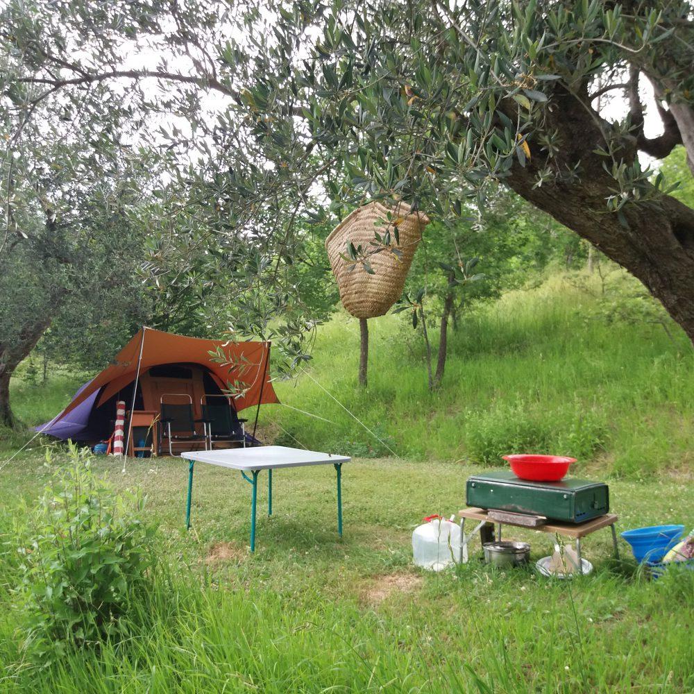 Pricing campsite