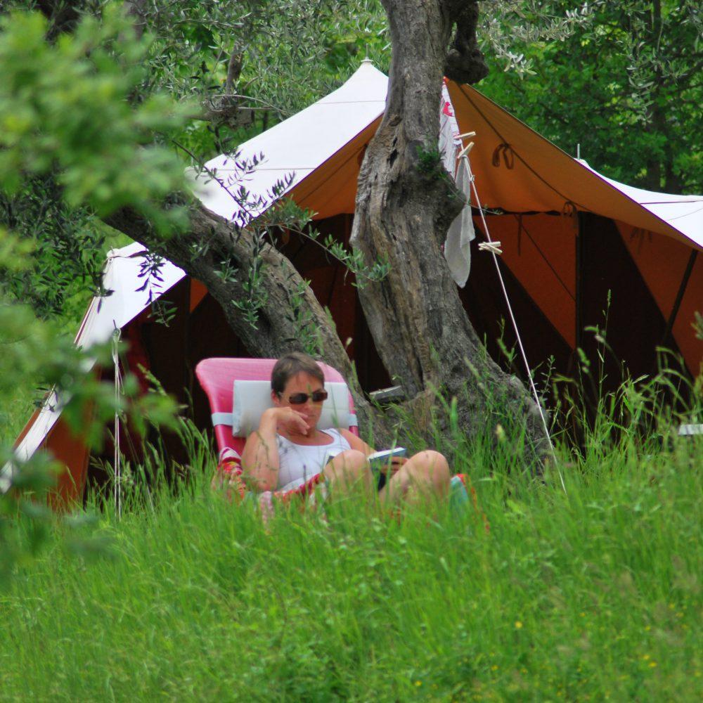Kleiner Campingplatz