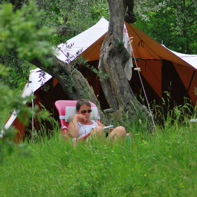 Kleiner Camping