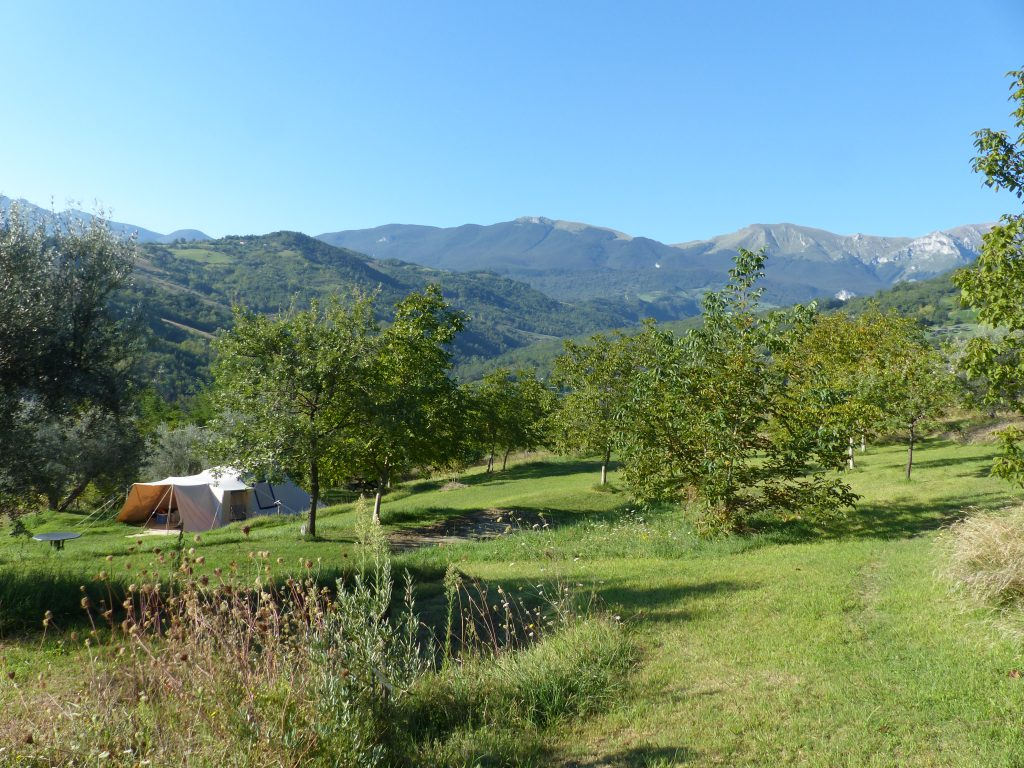 Campervan in Abruzzo, Italy