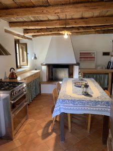 Cucina casa di vacanza