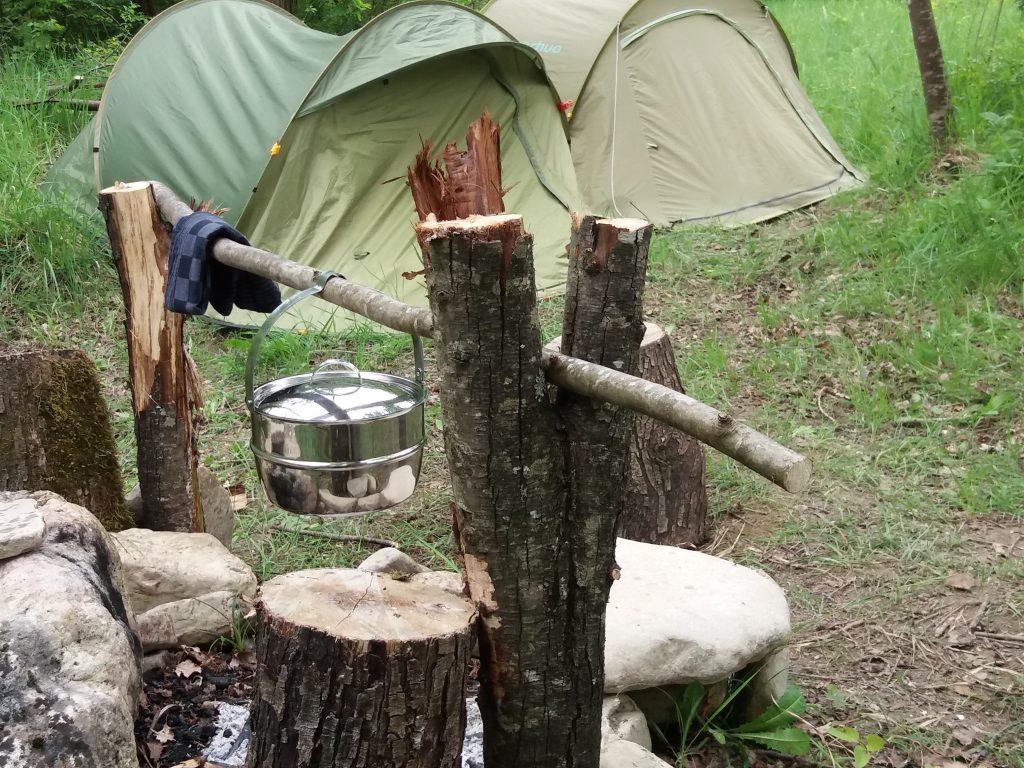 Wildcamp in Abruzzo, Italy
