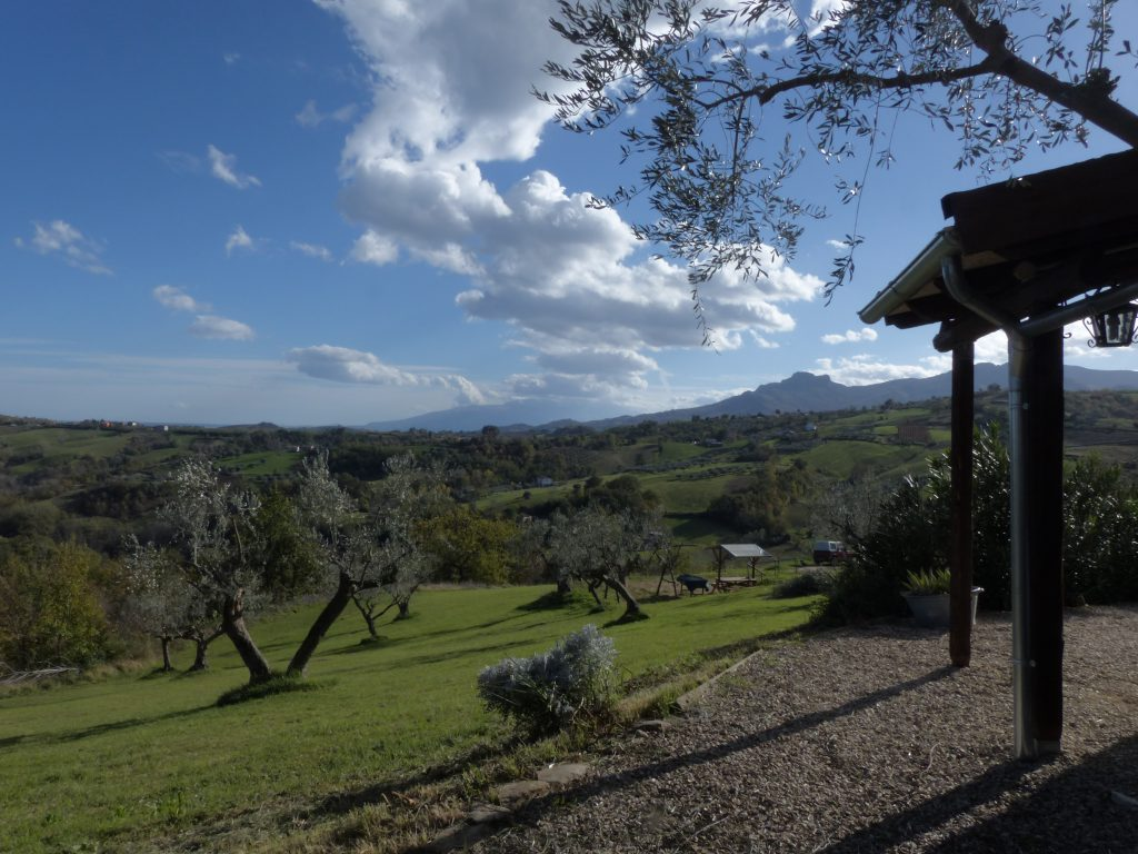 Casetta in legno in Abruzzo