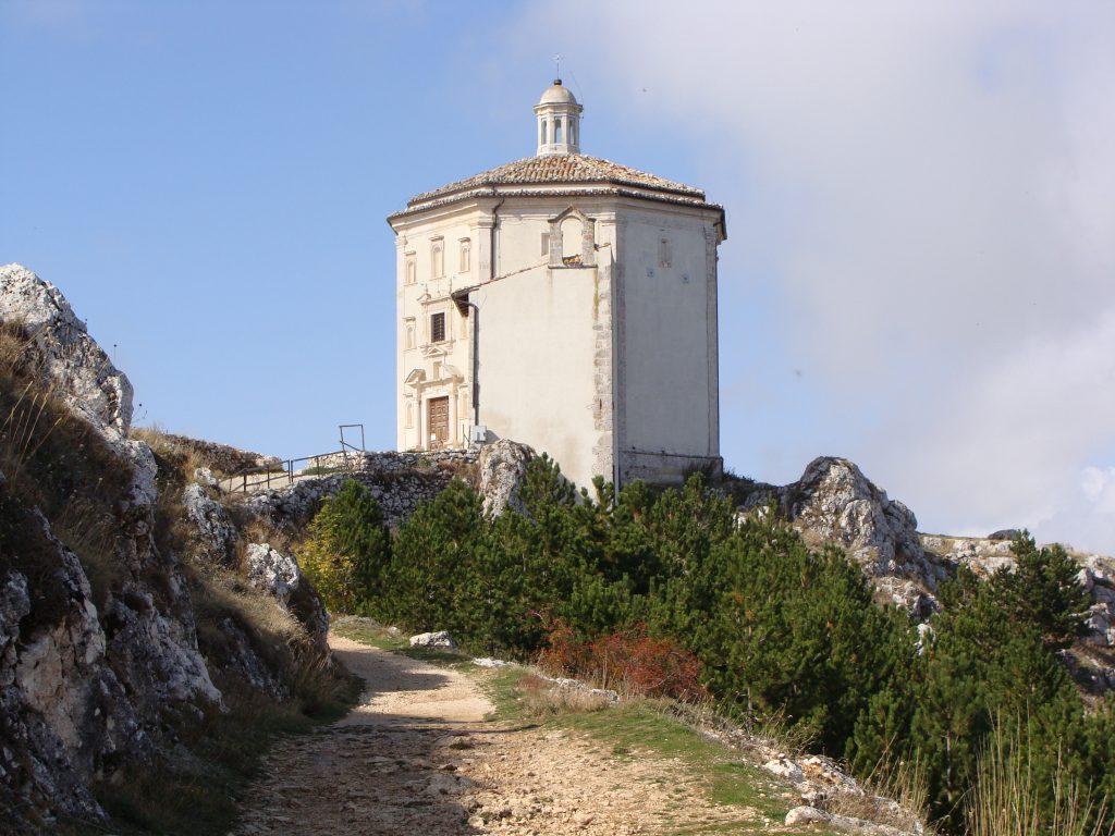 Santa Maria della Pieta, Rocca Calascio