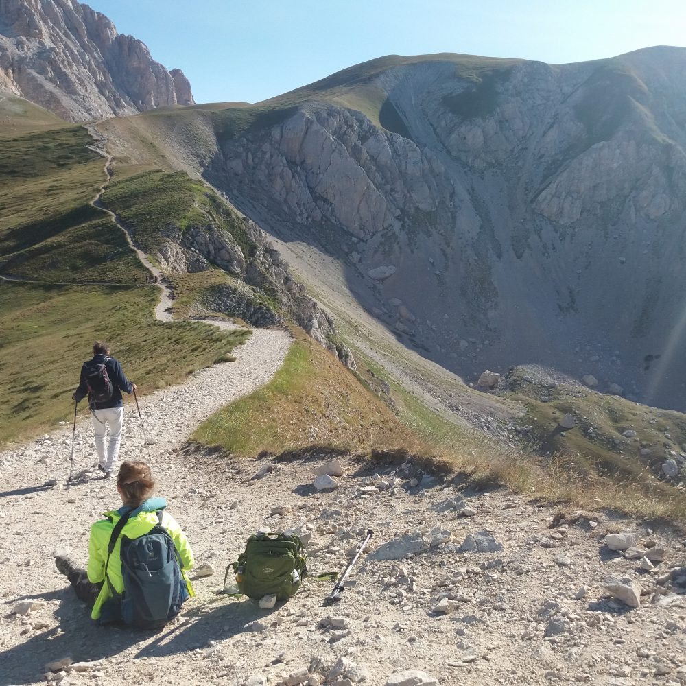 Hiking at Campo Imperatore