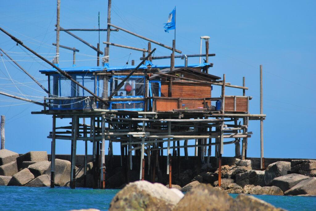 Trabocco Adriatische kust