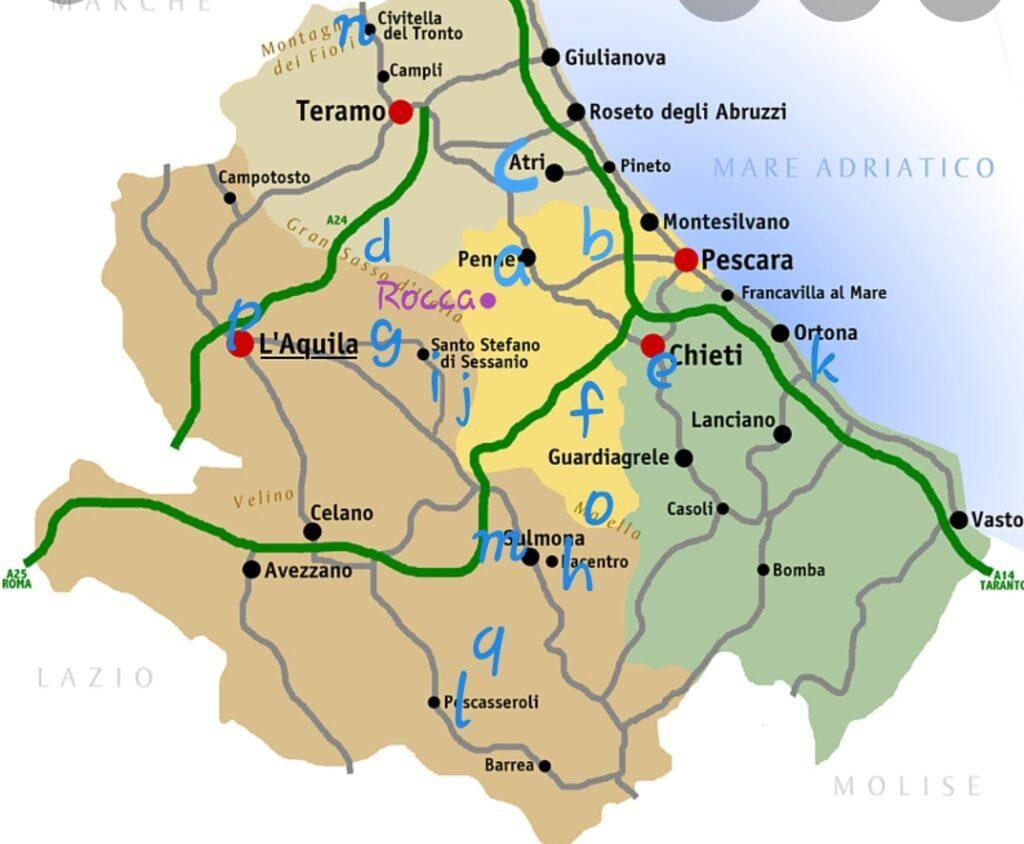 Tip in Abruzzo