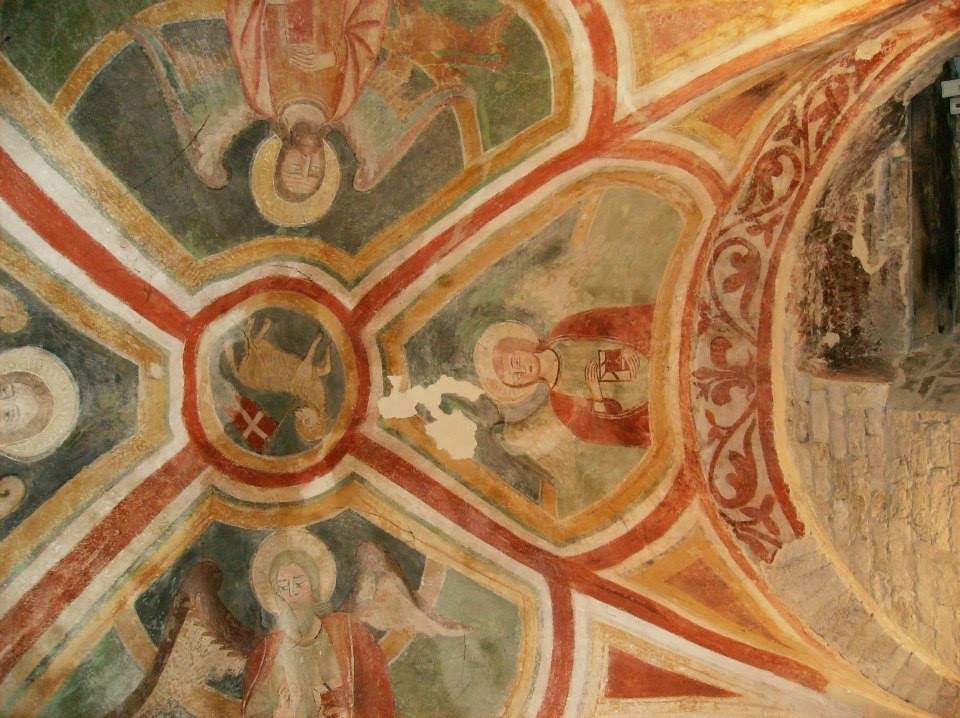 Fresco cathedral Penne