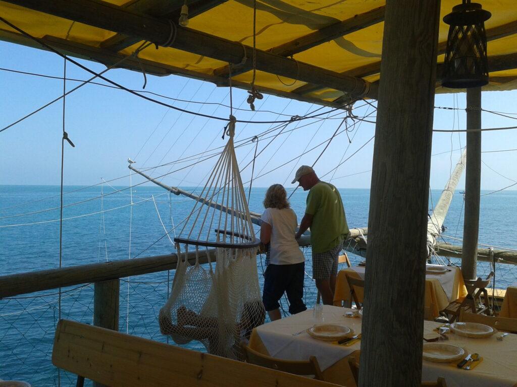 Uitzicht vissershut